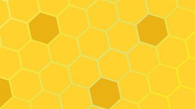 Komórek pszczoły Zdjęcia Stock
