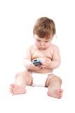 komórka dziecka fotografia royalty free