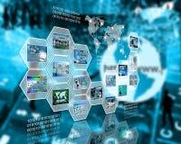 Komórka interfejs Zdjęcie Stock