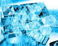 Komórka interfejs Fotografia Stock