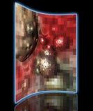 Komórka nowotworowa pixelated Obrazy Stock