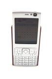 komórka odizolowywający telefon Obrazy Stock
