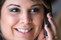 komórki rozmowy telefon Zdjęcia Stock