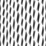 Komórki tkanka, siatkarstwo, abstrakcjonistyczny czarny i biały szermierczy bezszwowy tło Zdjęcie Royalty Free