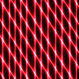 Komórki tkanka, siatkarstwo, honeycomb, abstrakcjonistyczny czerwony szermierczy tło Obraz Royalty Free