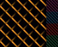 Komórkowa siatka, siatka wzór z cieniem Przeplatający pokrywający się l royalty ilustracja