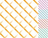 Komórkowa siatka, siatka wzór z cieniem Przeplatający pokrywający się l ilustracji