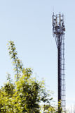 Komórkowego telefonu nadajnik zdjęcie royalty free