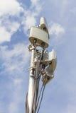 Komórkowy miejsce z plenerową wifi anteną Fotografia Stock