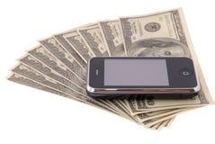komórkowy telefon Obrazy Royalty Free