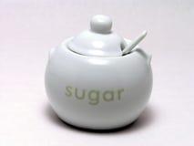 Kom 1 van de suiker Royalty-vrije Stock Fotografie