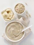 Kom babyvoedsel Royalty-vrije Stock Afbeeldingen