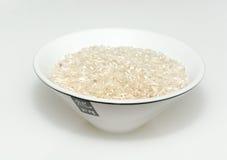 Kom Chinese rijst Royalty-vrije Stock Foto