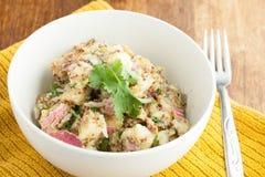 Kom de Salade van de Aardappel Royalty-vrije Stock Afbeelding
