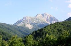 Kom Kucki mountain peak landscape. In Montenegro royalty free stock photos