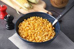 Kom met graanpitten stock foto's