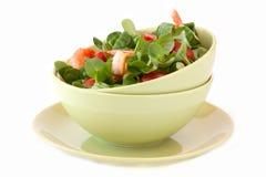 Salade met garnalen Royalty-vrije Stock Fotografie