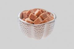 Kom met suiker Royalty-vrije Stock Foto's