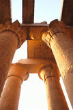 Kom - Ombo. Temple of Kom - Ombo - Egypt Royalty Free Stock Photography