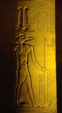 Kom Ombo by night Royalty Free Stock Image