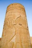 Kom Ombo Tempel, Ägypten stockbilder