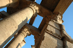 Kom-Ombo Tempel Stockfotos