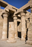 Kom Ombo temple. Details of Egyptian art. An example of the art of the pharaohs Stock Image