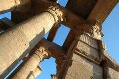 Kom-Ombo Temple. On sunset, Egypt Stock Photos