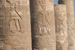 Kom Ombo temple Stock Photos