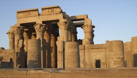 Kom Ombo temple detail Royalty Free Stock Photo