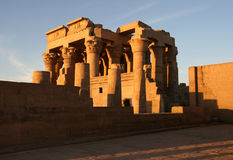 Kom Ombo temple during sunset. Stock Photography