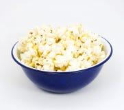 Kom Popcorn stock afbeeldingen