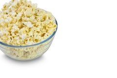 Kom popcorn royalty-vrije stock afbeelding