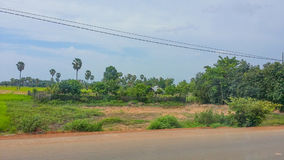 Kom pot province cambodia. Kom pot kingdom of cambodia scenic view of countryside Royalty Free Stock Photography