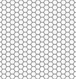 Kom?rki heksagonalna tekstura Miodowe sze?ciok?t kom?rki, honeyed grzebieniowa siatka grilla tekstura, geometryczni roj?w honeyco ilustracji