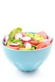 Kom salade Royalty-vrije Stock Foto's