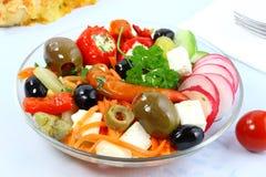 Kom salade. Stock Foto