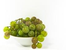 Kom van druiven Royalty-vrije Stock Afbeeldingen