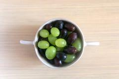 Kom van Druiven Royalty-vrije Stock Fotografie