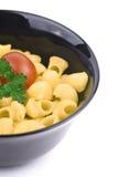 Kom van macaroni Royalty-vrije Stock Fotografie