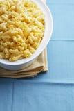 Kom van macaroni Stock Afbeelding