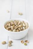 Kom van pistaches Royalty-vrije Stock Fotografie