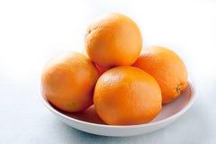 Kom van sinaasappelen Royalty-vrije Stock Fotografie