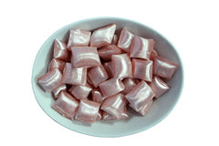 Kom van Turks beroemd suikergoed   Stock Foto