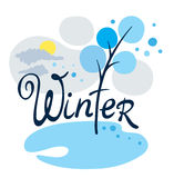 kom vintern Royaltyfri Fotografi