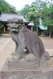 Komainu statue royalty free stock photography