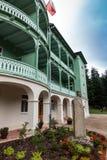 Komancza Polen - Juli 20, 2016: Kloster av systrar av th Royaltyfri Foto