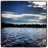 Komar laguna Zdjęcie Royalty Free