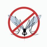 Komara znak ostrzegawczy 5 royalty ilustracja