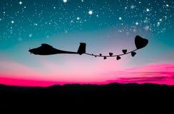 komarnica abstrakcjonistyczny samolot Obraz Stock